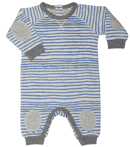 Mini A Ture one-piece, Silver Lake Blue