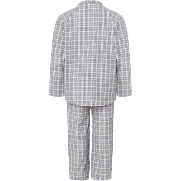 Mini A Ture pajama set, Night shadow blue