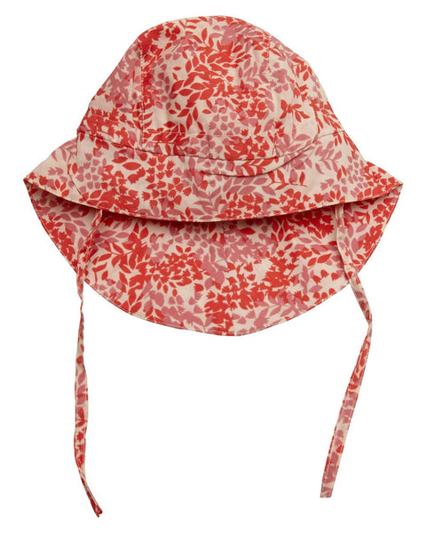 Mini A Ture printed baby summer hat