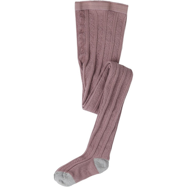 Mini A Ture wool tights, rose<br>Size 1-10 years