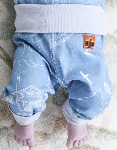 Modéerska Huset baby pants, Summer Revisited