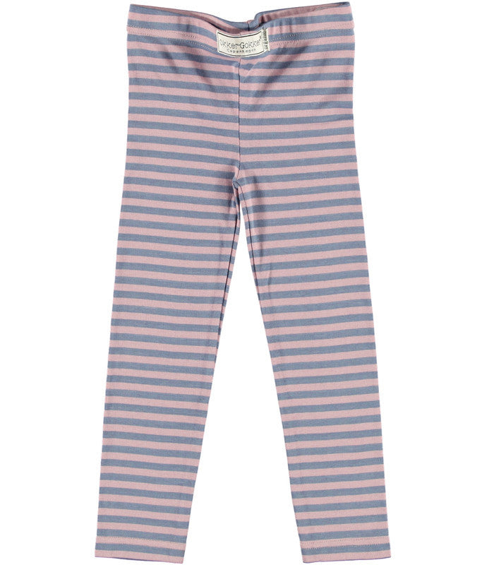 Okker-Gokker organic baby leggings, stripes