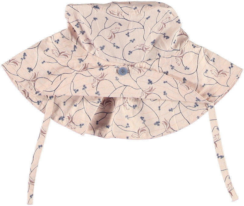 Okker-Gokker hat, birds, organic cotton