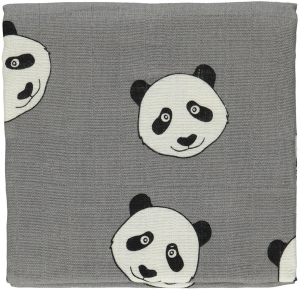 Smafolk Organic Panda Burp Cloth