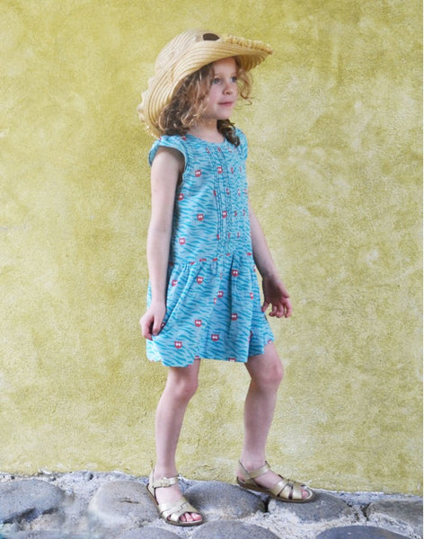 La Queue du Chat Kilimandjaro dress, 100% Organic <br>Size 4-10 years