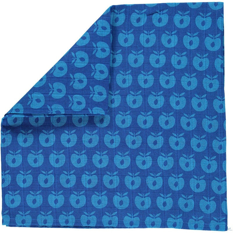 Smafolk burp cloth, blue