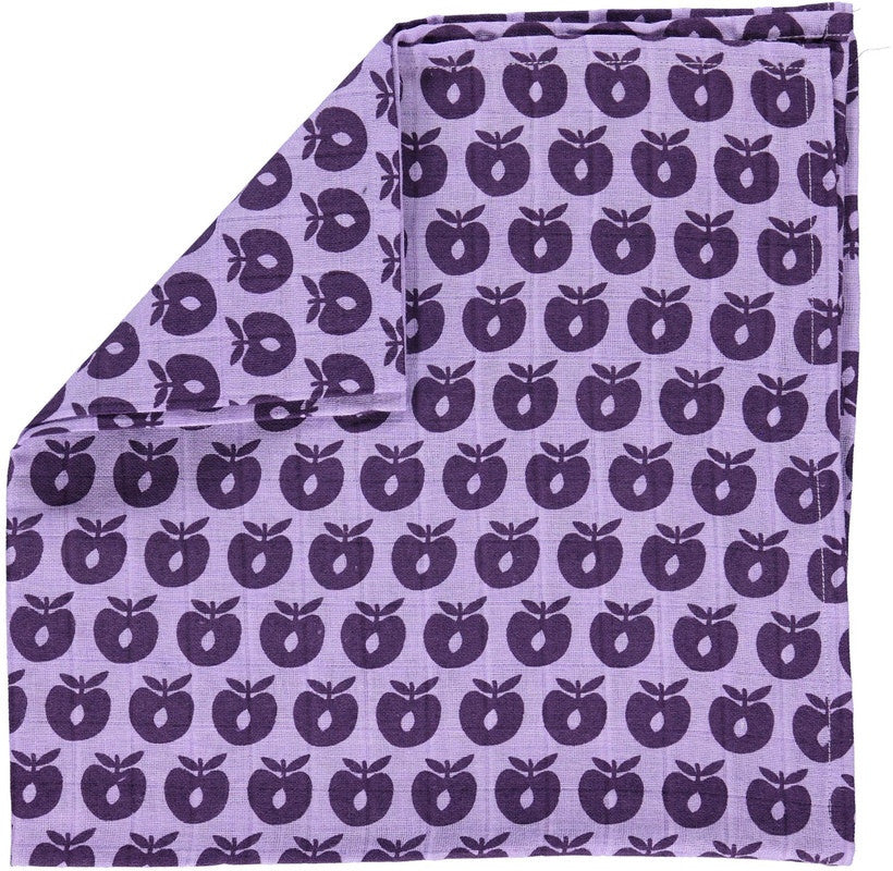 Smafolk burp cloth, light purple