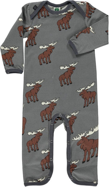 Smafolk One-Piece, Moose Print