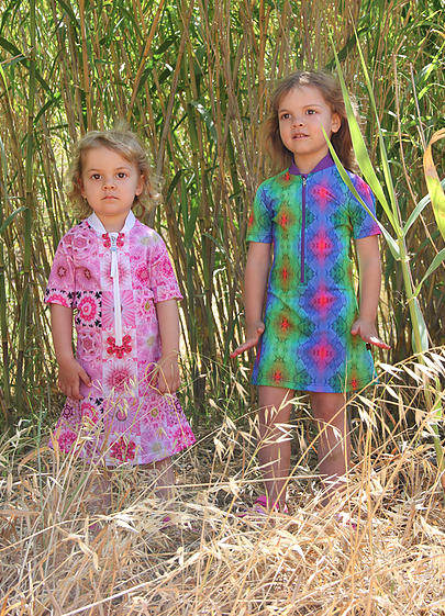 Solamigos UV dress, Elephant print, oeko-tex