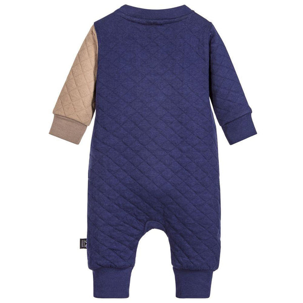 UBANG Organic Elephant One-Piece, Indigo Blue