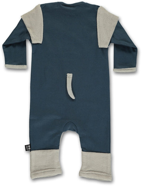 UBANG organic elephant one-piece with tail