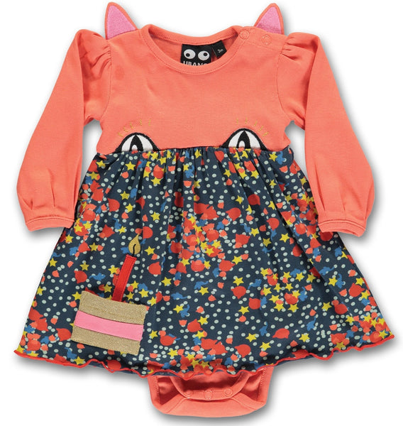 UBANG organic party cat dress