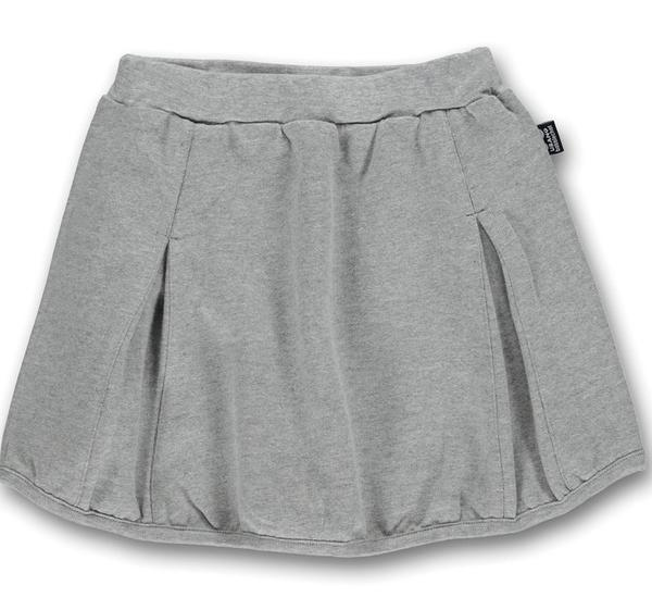 UBANG pleated skirt, melange gray