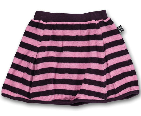 UBANG pleated skirt, stripes<br>Size 2-5 years