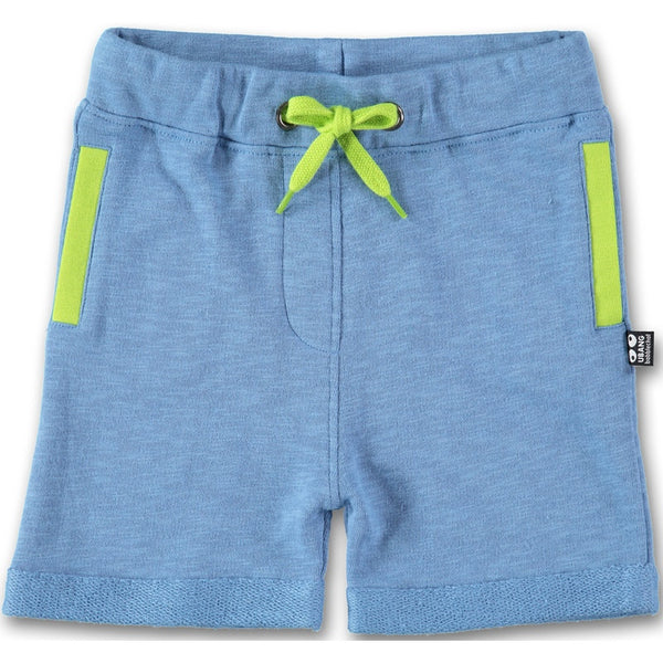 UBANG organic cotton shorts, blue