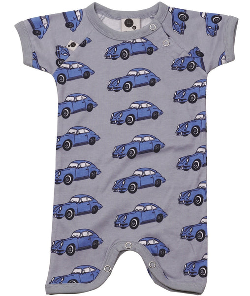 Krutter sunsuit, car print, Size 1-24M