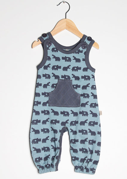 Urban Elk sleeveless one-piece, Hungry Hippo