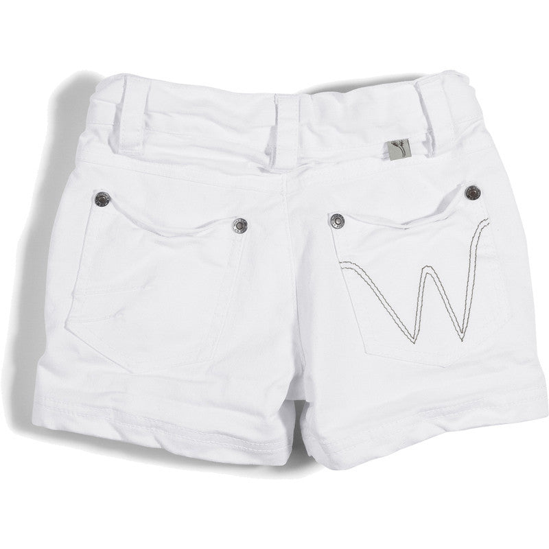 Wheat denim shorts