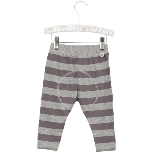 Wheat granddad trousers, gray stripes