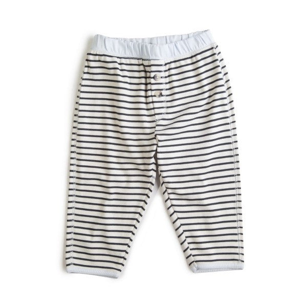 Wheat granddad trousers, stripes