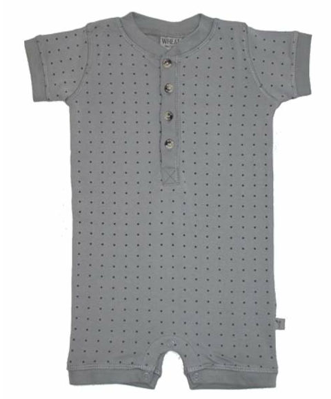 Wheat grey jumper, mini star print
