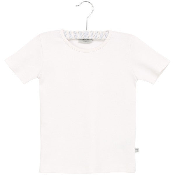 Wheat t-shirt s/s, white