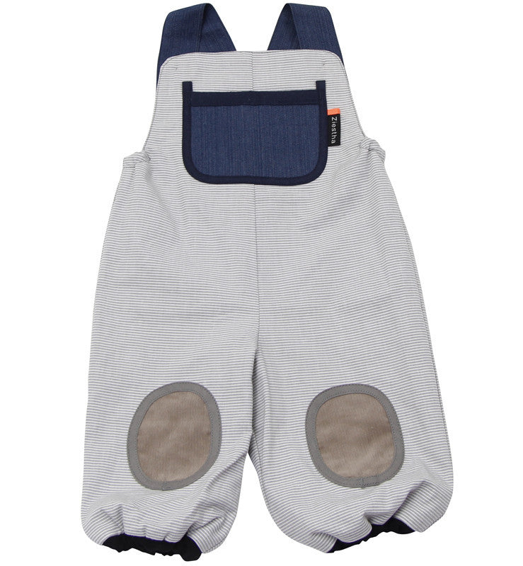 Ziestha overalls, grey stripes