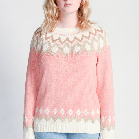 Random Acts of Pastel / Rosy in Reykjavik Sweater