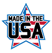 Made in the USA Red White and Blue Logo, Connelly