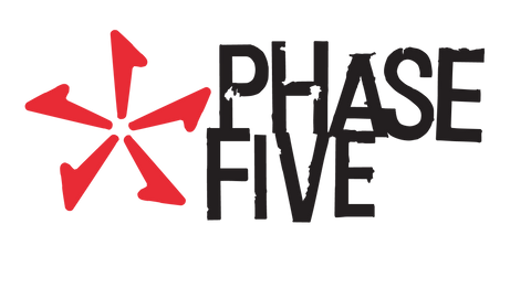 Phase 5 Logo - Wake Surf Boards by Phase Five V