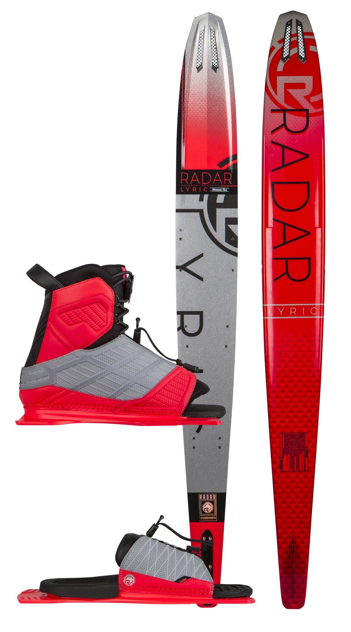 Radar Lyric Package - Water Ski with boots and RTP / HRTP