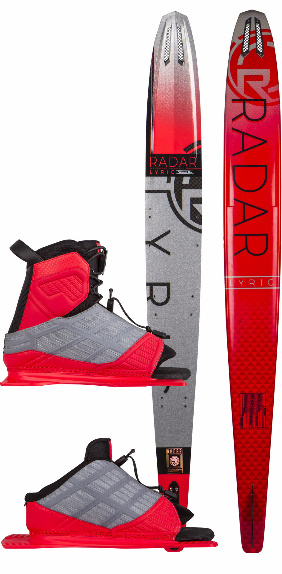 Radar Lyric Package - Water Ski with boots and bindings