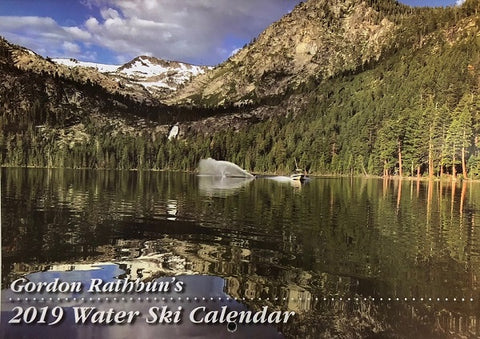 Gordon Rathbun's 2019 Water Ski Calender