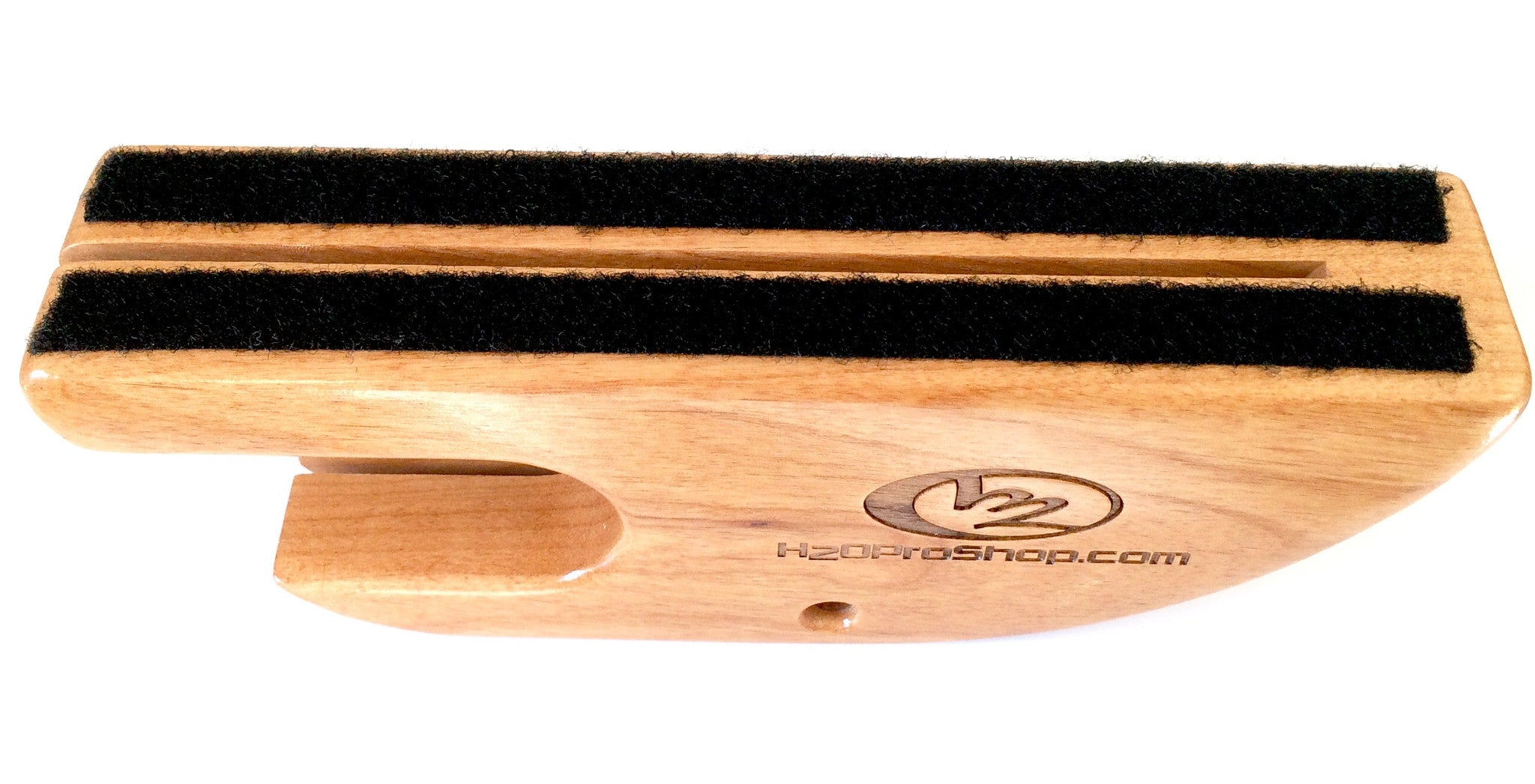 Ski Fin Protector - Wooden Style - Skier Gift from H2O