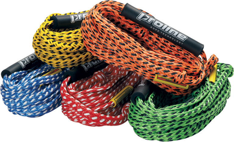 Heavy Duty Tube Rope in - Red Yellow Orange Green Blue