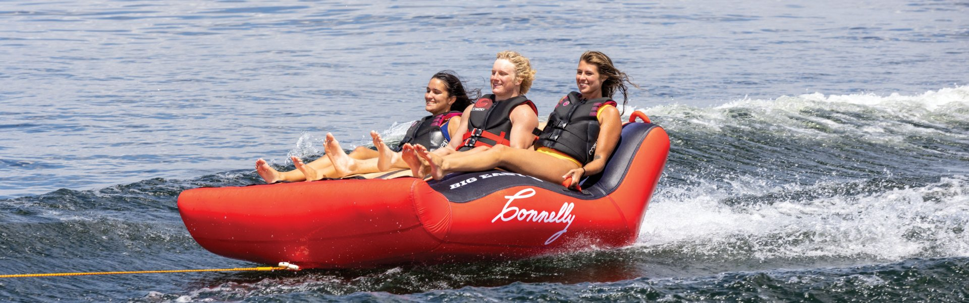 Tubing Action Extreme Shot Banner