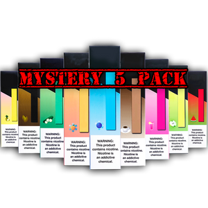 Mystery Disposable 5 Pack