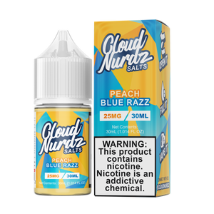 Peach Blue Razz SALT by Cloud NURDZ