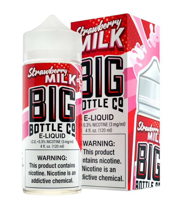 Strawberry Milk - Big Bottle Juice Co