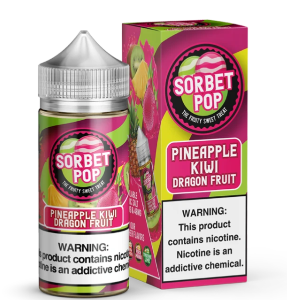 SORBET POP - PINEAPPLE KIWI DRAGON FRUIT