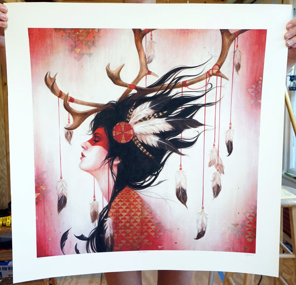 """Red Caribou"""