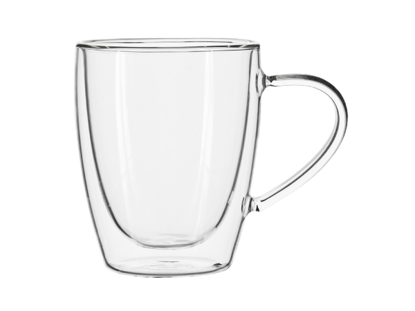 Double-Walled Glass Mug