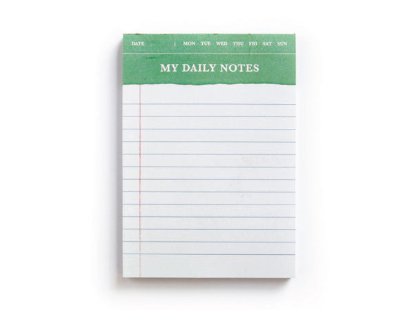 My Daily Notes Notepad