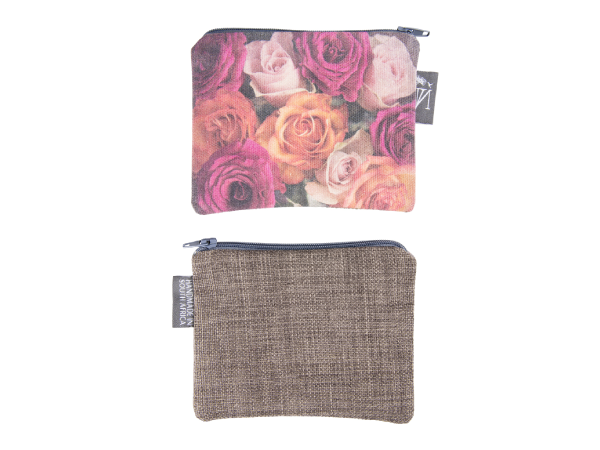 Rose Fabric Pouch