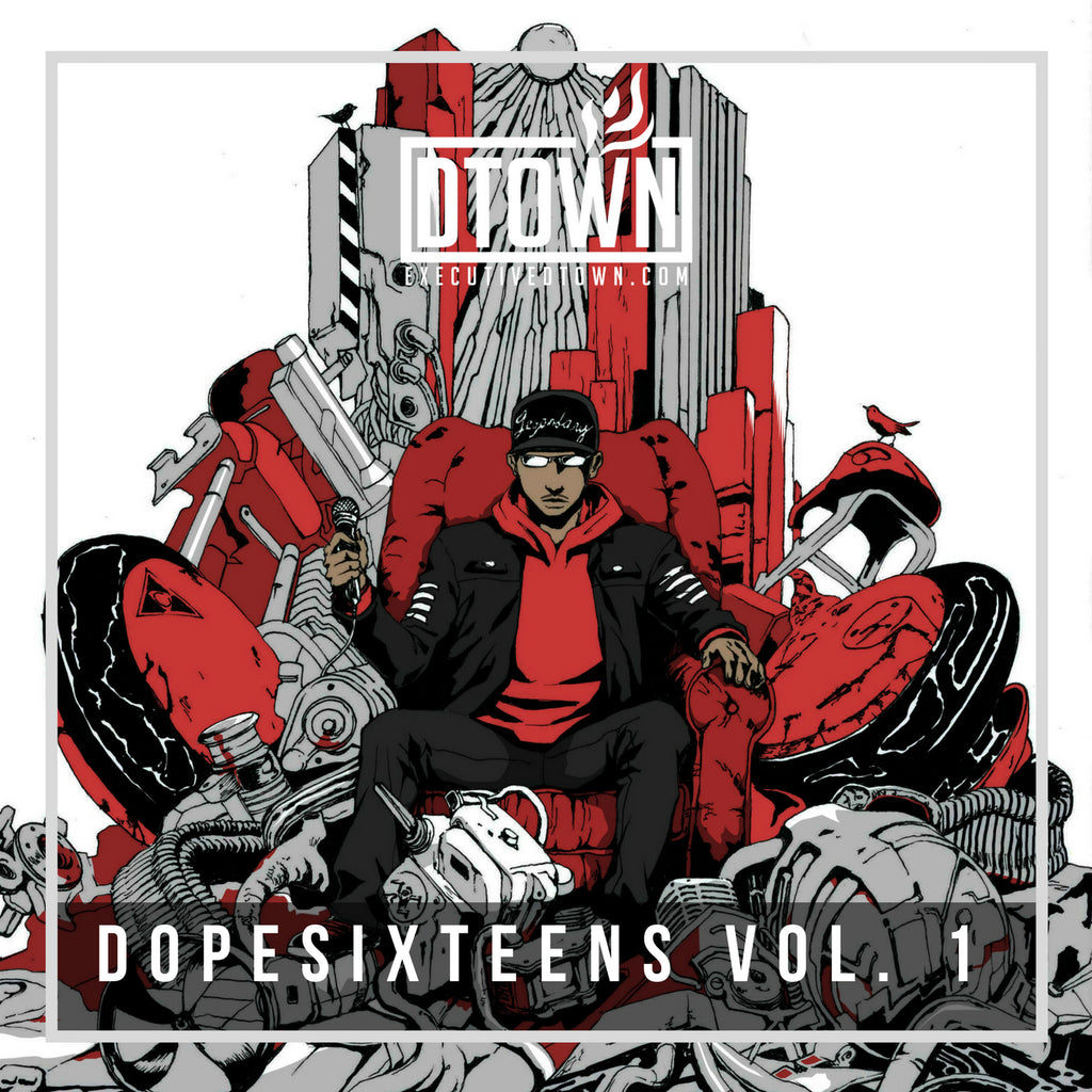 DOPESIXTEENS VOL. 1 [Physical CD]