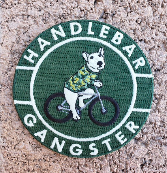 Handlebar gangster backpack and fanny pack are designs for every cyclist to be visible at all times.