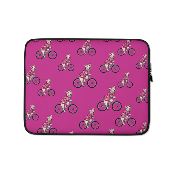 Handlebar Gangster Cycling MTB Lyly Bicycle Bike Pink Camo Tablet Computer Laptop Sleeve
