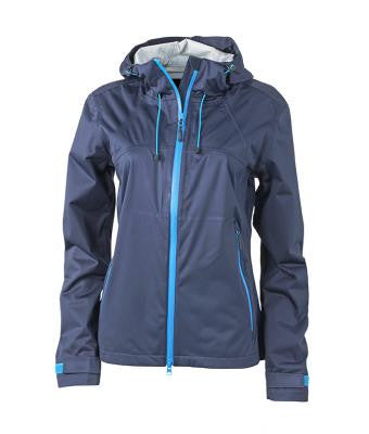 "Damen Outdoorjacke ""Spoke"" blau/blau"