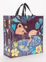 Blue Q Shopper Tote | Flamingo - Market Street Boutique St Augustine