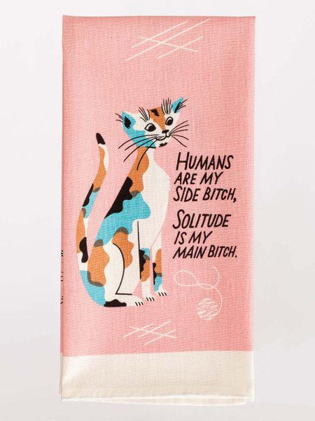 Blue Q- Dish Towel | Humans are my side.. - Market Street Boutique St Augustine
